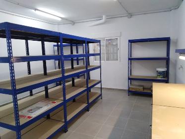 El col·legi estrena el nou magatzem construït amb fons del pla Edificant