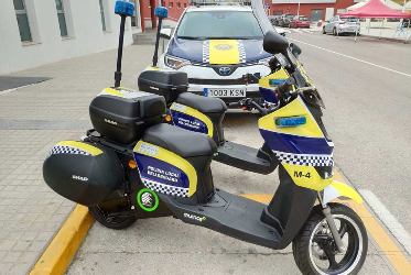 La Policia de Bellreguard incorpora dos noves motos elèctriques