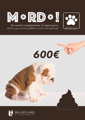Bellreguard enceta una campanya per a conscienciar els amos dels gossos