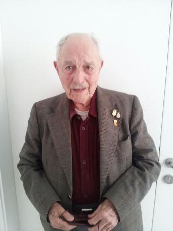 El brigadista internacional Josep Almudéver parla de la República a Bellreguard