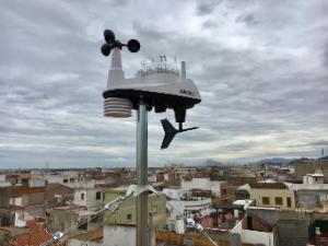 Bellreguard posa en marxa la seua estació meteorològica