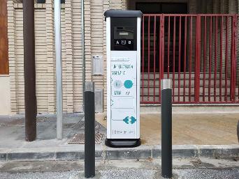 L'Ajuntament instal·la una estació de recàrrega per a vehicles elèctrics amb una ajuda de l'Ivace