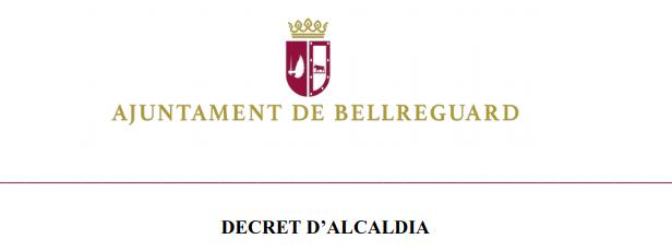 Declaració de l'estat d'alarma i funcionament dels serveis municipals