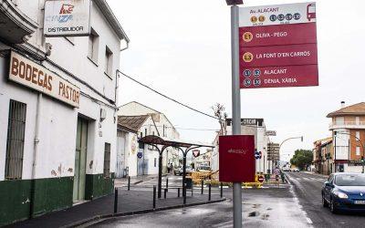 L'alcalde de Bellreguard demana el restabliment de la línia d'autobús entre el poble i la platja
