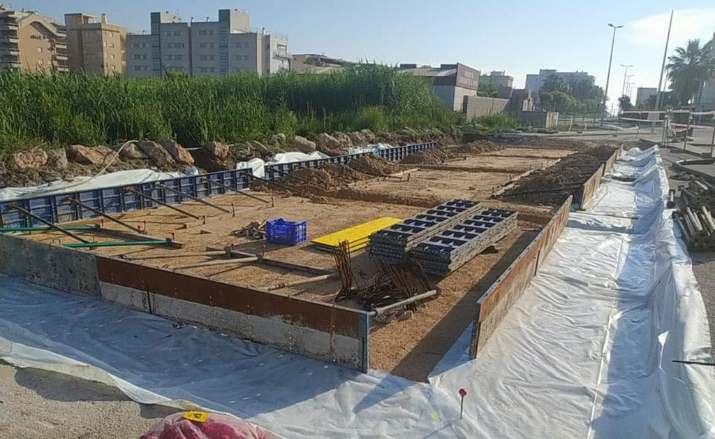Bellreguard modernitza la xarxa d'aigua potable amb les obres del dipòsit de la platja i accelerant la renovació de comptadors