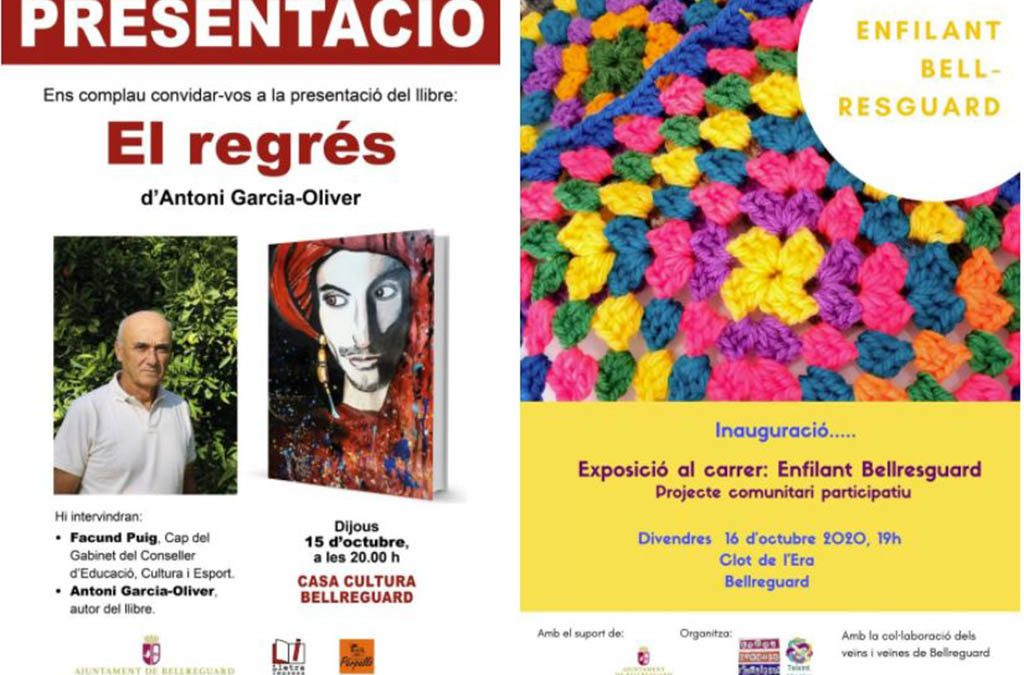 Bellreguard es bolca amb l'estrena de l'Escena Erasmus programant activitats culturals complementàries