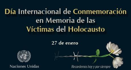 En memòria de les víctimes de l'holocaust