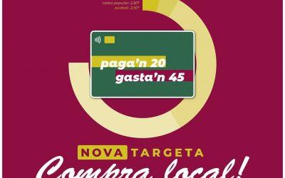 Bellreguard entregará a los vecinos tarjetas de 45 euros para que compren en el comercio local